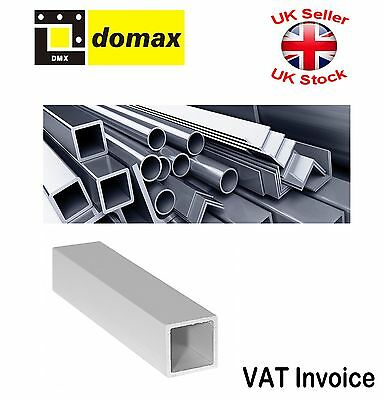 Aluminium Extrusion Profiles Square Tubes Length: 100 cm Size:15x15 or 20x20mm