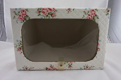 Vintage Hat Box Case Retro Closet Decor - Rose Decor
