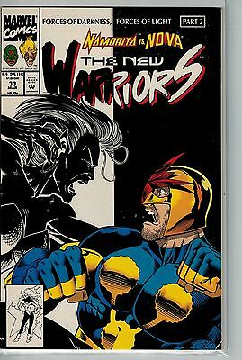 New Warriors - 033 - Marvel - March 1993