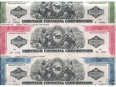 LOT OF 5 DIFF RARE 1970's CHRYSLER $ BONDS w OLD CARS Our Exclusive! $200 RETAIL
