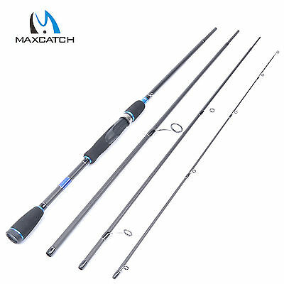 "Maxcatch 8'9""/2.7M Spinning Fishing Rod Fast Action 4Sec Travel Carbon Fiber"