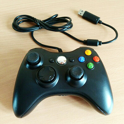 USB Wired Joypad Gamepad Controller Microsoft for Xbox Slim 360 for PC Laptop