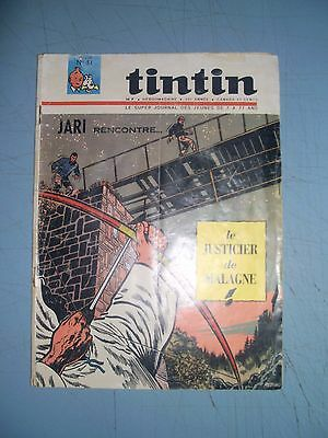 Tintin issue 51 1965 french comic