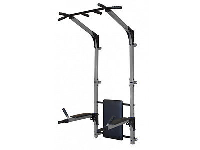 Chin up bar/ Turn bars Ab Trainer Back Trainer fit top M8 Silver/ Black