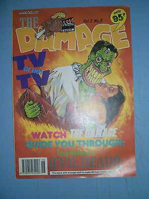 Brain Damage issue 5 Adult Comic 1990