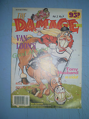 Brain Damage issue 9 Adult Comic 1990