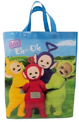 Teletubbies Say Eh Oh Tote Carry Bag Non Woven
