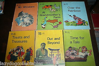 Vintage School Reader Books Young Australia Readers 1969 x 8