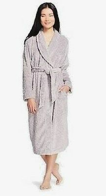 Wholesale Lot (10)  Luxurious Plush Long Sleep Robe for Women Gray M/L NWT