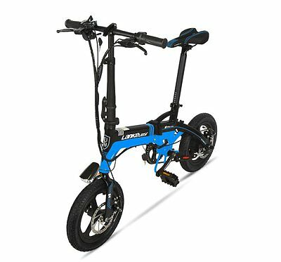 240W 36V 8.8AH  Mini Ebike 7 Speeds 14in Electric Bicycle Folding