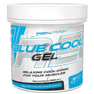 Trec Nutrition Blue Cold Gym Muscle Rub Cool Down Gel 300ml