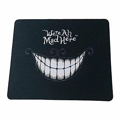 Mouse Pads Schoolsupplies Black mouth Picture Anti-Slip Laptop PC Mice Pad Mat