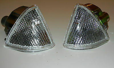 New Citroen Ax 1986-1996 Pair Front Indicator Clear Left + Right N/s And O/s