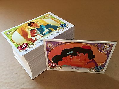 Topps DISNEY PRINCESS trading cards - Full / Complete BASE set of 144 cards