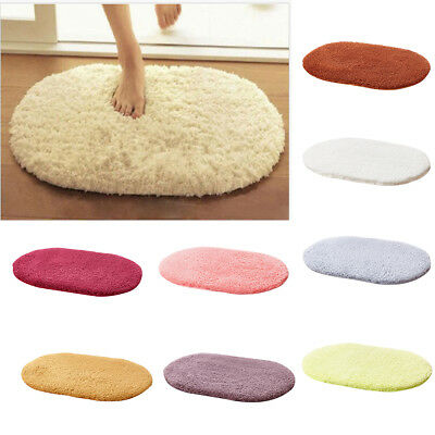 Absorbent Non-slip Soft Memory Plush Shower Mat Bath Bathroom Floor Foam Rug New