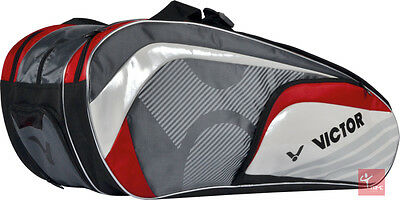 Victor Racket Multi Thermo Bag 9037 Red / Grey