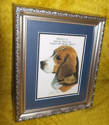 Theres a Special Place in Heaven for BEAGLE Lovers Picture by Robert J May L@@K