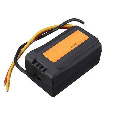 ElectricFilter DC12V Power Supply Pre-wired Black Plastic Audio Power Filter K9