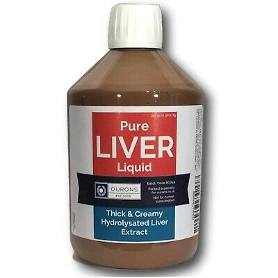 500ml Pure Liver Liquid Extract - Carp Attractor for Fishing Mixes, Soaked Baits
