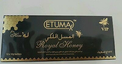 Etumax Vip Royal Honey 12 satchets by 10g