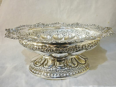 Sterling Silver Fruit Bowl Atkin Brothers 1900-1901