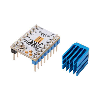 3D Printer TMC2100 Stepper Motor Driver Reprap +Self-adhensive Heatsink TE724