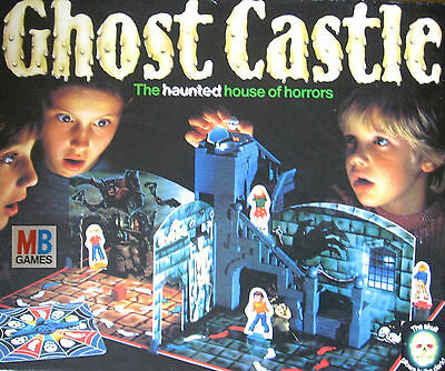 Ghost Castle Board Game Parts Pieces Spares - MB 1985