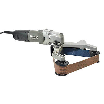 Electric Pipe and Tube Polisher Belt Sander Grinder for Polishing Stainless