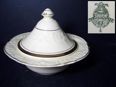 Beautiful Crown Ducal Crd143 Sugar Bowl With Lid