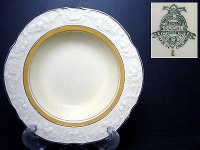 BEAUTIFUL CROWN DUCAL CRD143 RIMMED FRUIT BOWL crz - EMBOSSSED EDGE