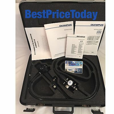 Olympus CF-1T200L Colonoscope Case Excellent Condition Endoscope evis tested