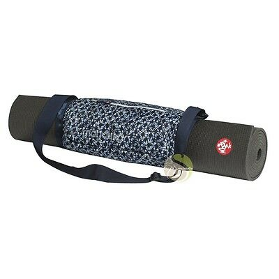 Sacoche sangle Go play 3.0 tapis de yoga Manduka France tile print Méditation