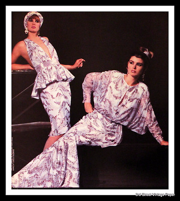 1986 Lillie Rubin Ad - Sequin Dress - Vintage 1980s Fashion Advertising Page 80s