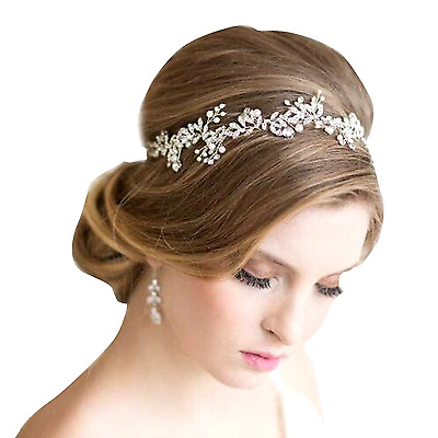 Crystal Rhinestone Wedding Headband Hair Accessories Bridal Tiara Headpiece