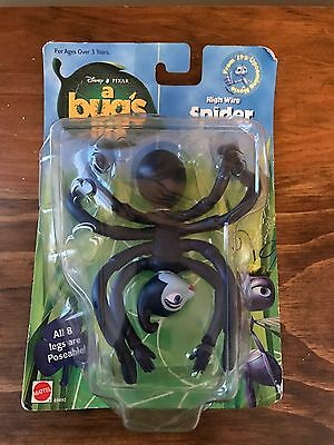 Brand New in Package Disney's Pixar - A Bug's Life High Wire Spider