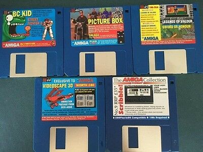 Commodore Amiga software disks various games and utilities #12