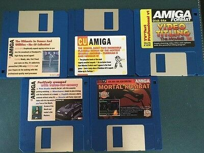 Commodore Amiga software disks various games and utilities #10