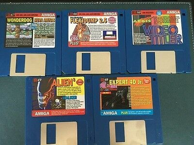 Commodore Amiga software disks various games and utilities #11