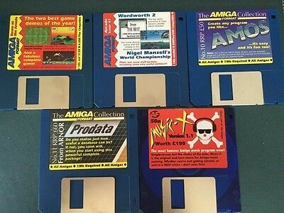 Commodore Amiga software disks various games and utilities #13