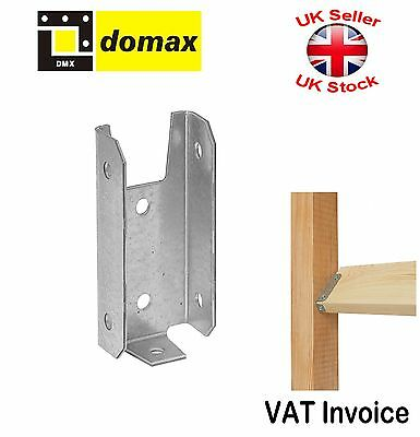 2 x Fence Brackets For Horizontal Boards 3 Sizes: 20 25 or 32 mm