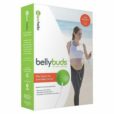 BellyBuds (5th Generation) Prenatal Pregnant Headphones Belly Buds Phones *NEW*