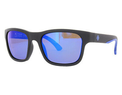 NEW Spy Optics Hunt Matte Black Navy / Dark Blue Spectra 673469714438 Sunglasses