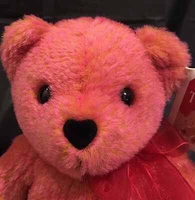 Avon Valentino the Love Bear Talking Plush Valentines Day Responds to You