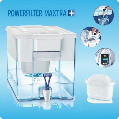 *1+6 SET*  1 BRITA OPTIMAX XXL 8,5 l. MIT 6 MAXTRA+ PLUS MICRO-FLOW POWERFILTER