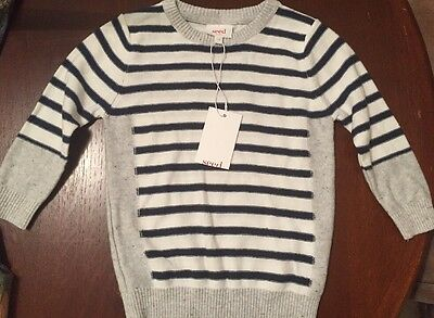 NEW Seed Heritage Baby Cotton Jumper Size 1-2