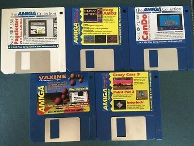 Commodore Amiga software disks various games and utilities #15