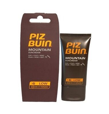Piz Buin Mountain Sun Cream SPF 6 40ml