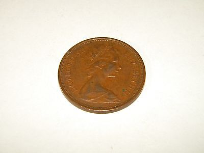 1971 Great Britain United Kingdom 2 New Pence Coin