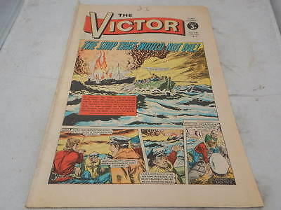 THE VICTOR COMIC No 649 ~ July 28th 1973 ~ The Ship That Would Not Die