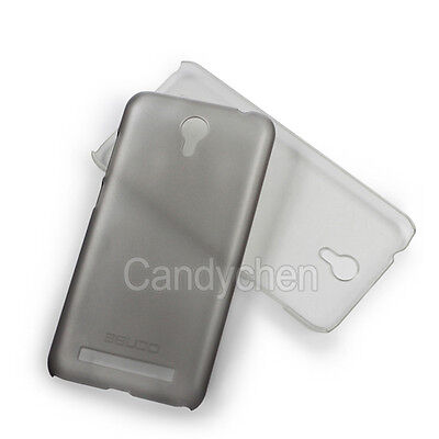 """Ultra-thin Plastic Hard Back Protective Cover Case + Lcd Film For 5.5"""" Umi Touch"""